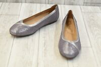 + Vionic Women's Spark Caroll Slip-On Ballet Flat - Pewter - Choose Your Size