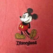 VINTAGE MICKEY MOUSE EMBROIDERED T SHIRT MEDIUM