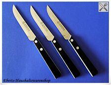 3 x hochwertige Küchenmesser Allzweckmesser mit Spezial Sägeschliff RF