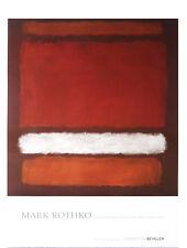 MARK ROTHKO - No. 7, 1960 - ABSTRACT ART PRINT Offset Lithograph 39x27 Poster