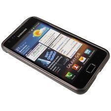 Transp. black Silicon Case für Samsung I9100 Galaxy S2