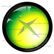xbox button decal sticker 360 free ship