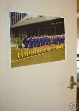 Chelsea 1970/'s Team Group Poster Yellow Socks