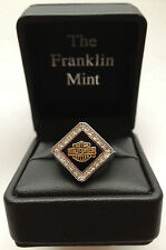 Harley-Davidson Ladies Forever Diamond Ring by Franklin Mint D4J8578 SZ 6