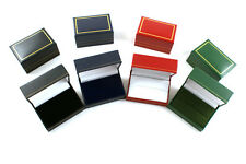 Wholesale Ring Boxes 10 Leatherette Double Ring Wedding Rings Jewellery Boxes