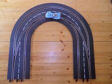 Carrera Digital 132 / 124   'Ideallinie' Kurven   EIN + AUSFAHRT 1/180  'links'