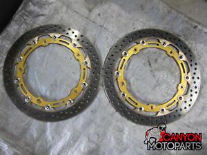 15 16 17 18 BMW S1000RR BREMBO HPK Full Floating Brake Rotors 208973751