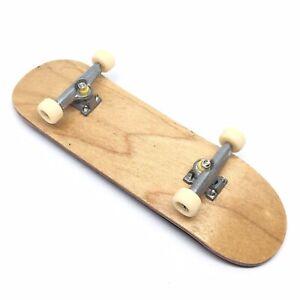 Genuine Maple Wood Fingerboard Skateboard Foam Grip Pro Toy Professional Wooden