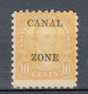 CANAL ZONE, YV # 68A - SC # 99, MH