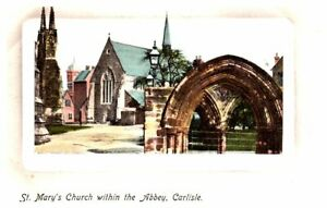 UK St. Mary's Church Within the Abbey CARLISLE Abbeytown Cumbria c1907-1915