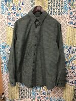 Dockers Men's Shirt Long Sleeve Button Up  Size Large