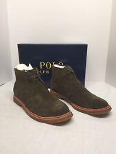 New Polo Ralph Lauren Mens FashionBoot Karyle size 13D Color Green