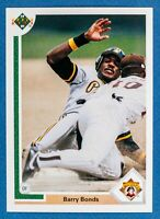 Barry Bonds #154 (1991 Upper Deck) Baseball Card, Pittsburgh Pirates