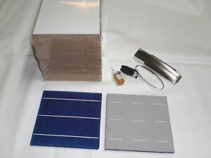 "CELULA SOLAR x20 6"" Kit placa(>80watts). Photovoltaic panel kit. SOLAR Cells.DIY"