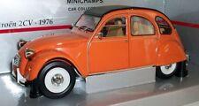 Véhicules miniatures orange pour Citroën