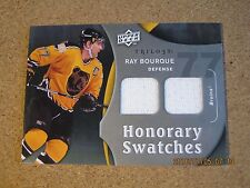 2009 10 Upper Deck Trilogy Honorary Swatches HS RB Ray Bourque - Boston Bruins