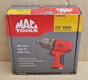 "Mac Tools 3/8"" Drive Impact Wrench Air Gun Twin Hammer - NEW (AWP280Q)"