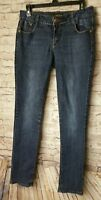 Southpole Womens Skinny Jeans Show Lace Tie Pocket accent Sz 11 (T18)