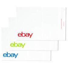 "eBay-Branded Polymailer Red Green & Blue 10"" x 12.5"" (No padding)"