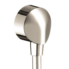 """Hansgrohe Showerpower 1/2"""" Female Npt Wall Outlet 27454932 Polished Brass New"""