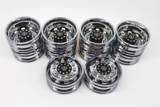 Tamiya 1:14 Tractor Trucks Wheels Electroplated wheels for Scania R620 56323 6x4