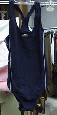 Lovely Slazenger Navy Blue One Piece Girl's Swimsuit Kids Swimwear Girl Age 13