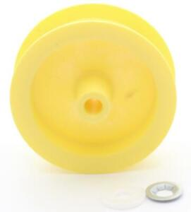 WE12X81 Dryer Idler Pulley for General Electric, Hotpoint,