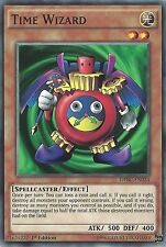 3X YU-GI-OH CARD: TIME WIZARD - DPBC-EN024 1st EDITION