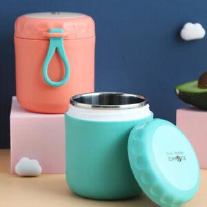450ml Thermobehälter Isolierbehälter Isolierte Lunchbox Speisebehälter Edelstahl