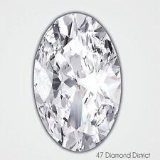 2.21ct. E-SI3 V.Good Cut Oval Shape AGI Certified Diamond 12.08x6.76x4.20mm