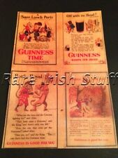 Guinness Alice In Wonderland - 1930s Vintage Dublin Irish Pub And Bar Print