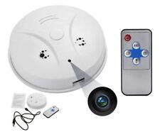 HD Mini Spy Camera Cam Smoke Alarm Detector Video DVR Nanny Hidden Motion N2602
