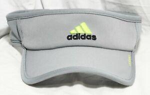 Adidas Adizero Grey/Yellow Visor Cap Hat Adjustable