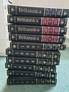 Full set Encyclopaedia Britannica 15th edition 1988, plus 1988-1998 annuals