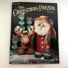 Christmas Parade Tole Painting Book instruction pattern wood & fabric painting