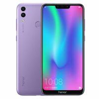 Global Huawei Honor 8C 6.26'' 64GB 4GB Dual Sim LTE Android Smartphone Morado
