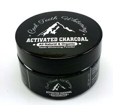 Cool Teeth Whitening Natural Organic Activated Charcoal Toothpaste Powder Vegan