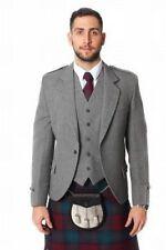 Abrigos y chaquetas de hombre grises, 100% lana, Talla 40