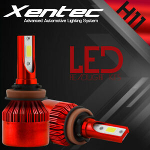 XENTEC LED HID Headlight Conversion kit H11 6000K for 2012-2015 Scion iQ