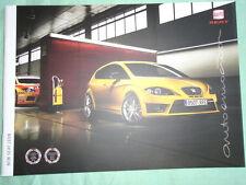Seat Leon range brochure Aug 2009