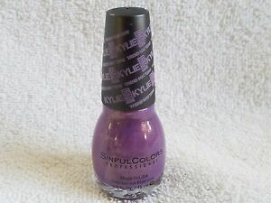SinFulColors***KYLIE***#2081 KING SIZE Nail Colour~~~0.5 fl oz/15 ml~~~BRAND NEW