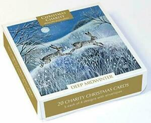 Museums & Galleries Charity Christmas Cards Boxed Pack of 20 - Deep Midwinter