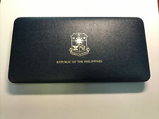 1975 Philippines Proof Set Coins Issued Franklin Mint Boxed Sealed