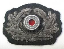 German Wreath Metal cockade Army Officers Aluminium Heer Visor Cap Hat WW2 Aged