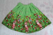 Womens High Waisted Pleated Skirt Jersey Ladies Summer Green Tube Stretch