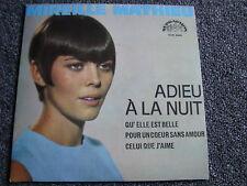 Mireille Mathieu-Adieu A La Nuit- 4 Track EP-Made in Czechoslovakia-MINT