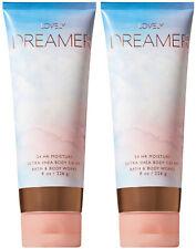 Bath and Body Works Lovely Dreamer Body Cream 8 oz. X2