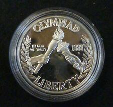 Estados Unidos Dólar De Plata Seúl Olimpiada 1988 S prueba incapsule