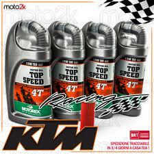 TAGLIANDO FILTRO K&N E OLIO MOTOREX 15W50 15W-50 KTM EXC F 4T 250 2017 - 2017