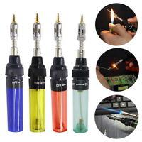 Gas Blow Torch Soldering Iron Tool Refillable Butane Welding Pen Cordless Burner